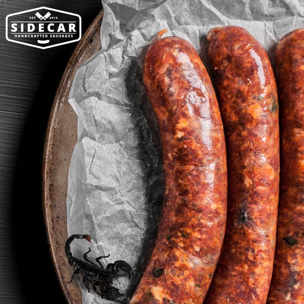 sidecar-sausages-spicy-scorpion