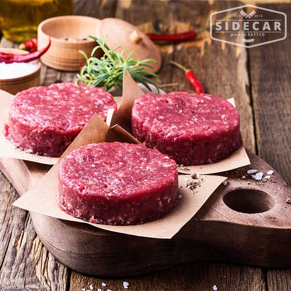 Beef burger – website