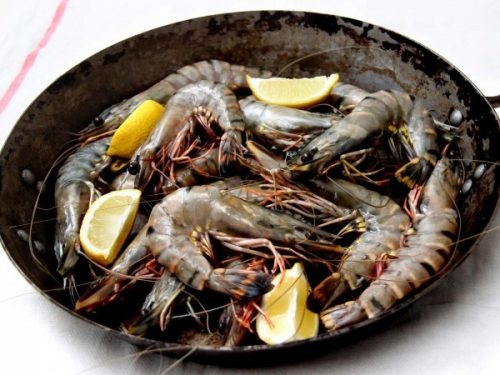 Black Tiger Prawns - 1kg (size 21-25)