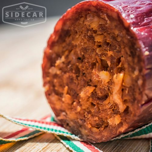 Hot Hungarian Salami Slices - 100gm